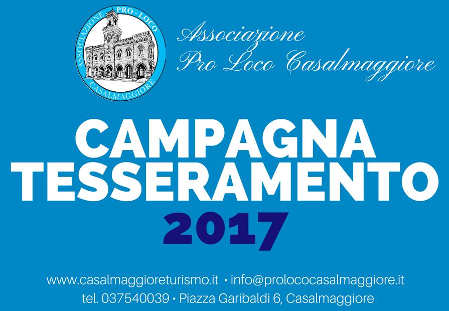 Campagna Tesseramento Pro Loco 2017