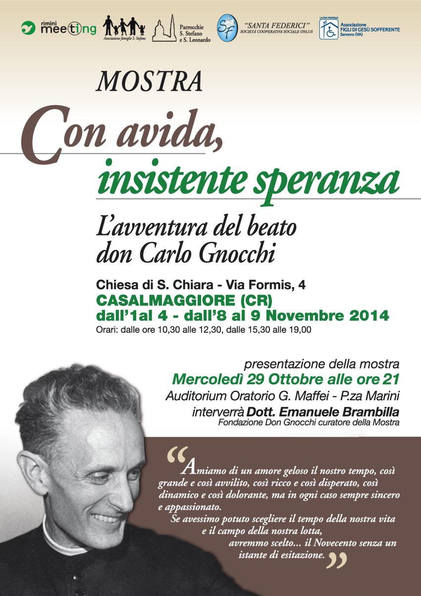 Presentazione Mostra sul Beato don Carlo Gnocchi