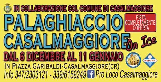 """PALAGHIACCIO """"CASALMAGGIORE ON ICE"""""""