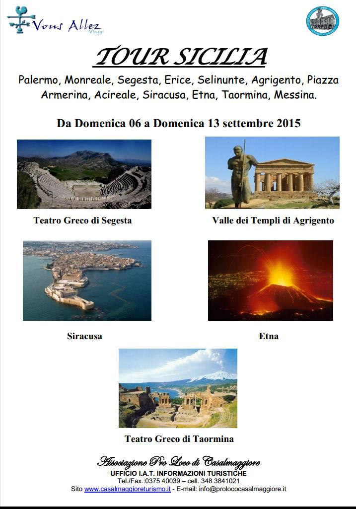 In Sicilia con la Pro Loco: aperte le iscrizioni