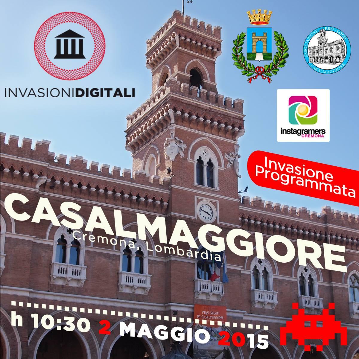 #INVASIONIDIGITALI A CASALMAGGIORE