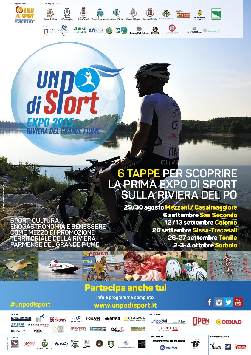 TRA I BOSCHI DEL PO – Gara di mountain bike – UN PO DI SPORT