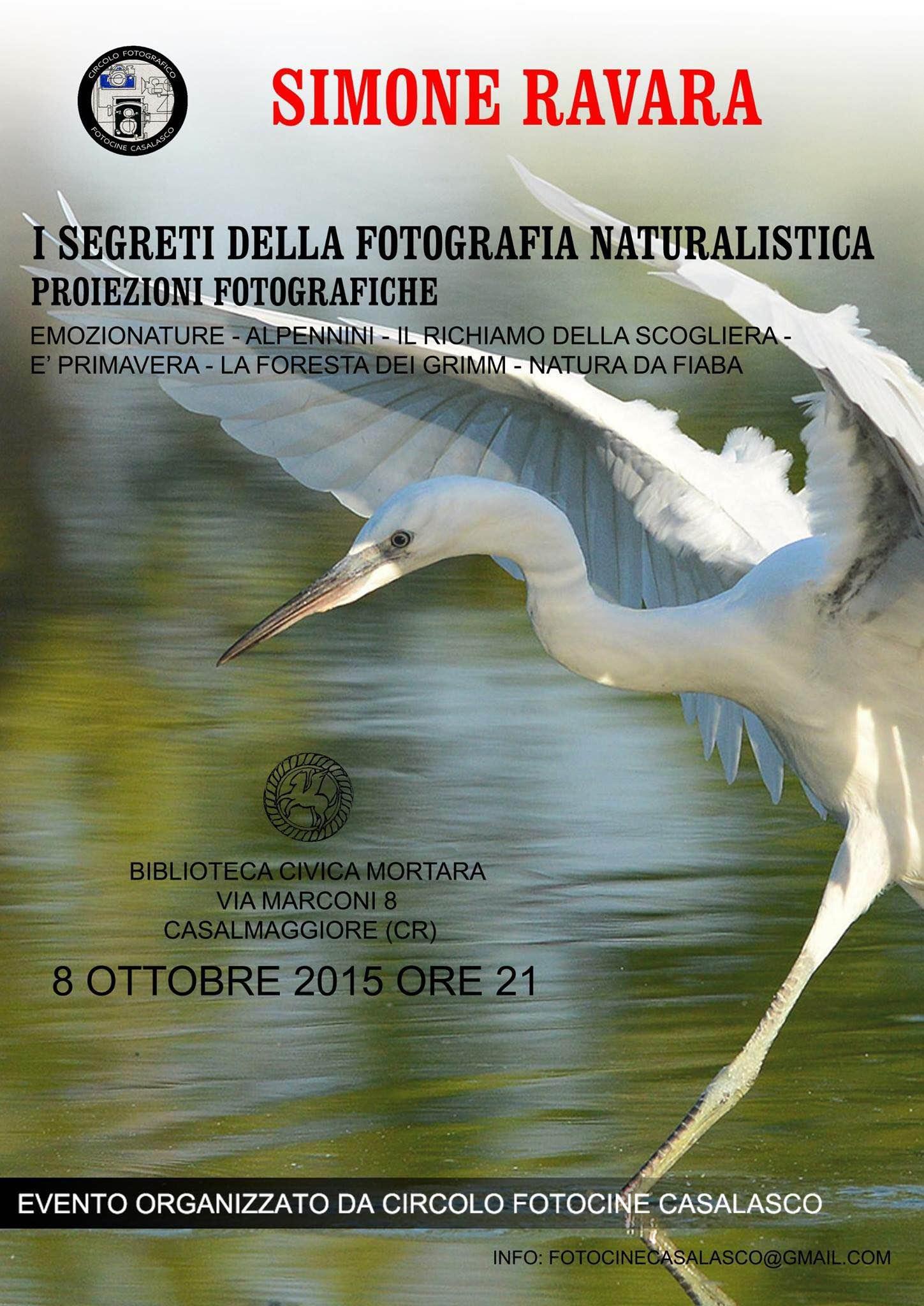 I SEGRETI DELLA FOTOGRAFIA NATURALISTICA