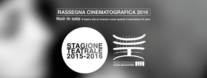 NOIR IN SALA – Rassegna Cinematografica 2016