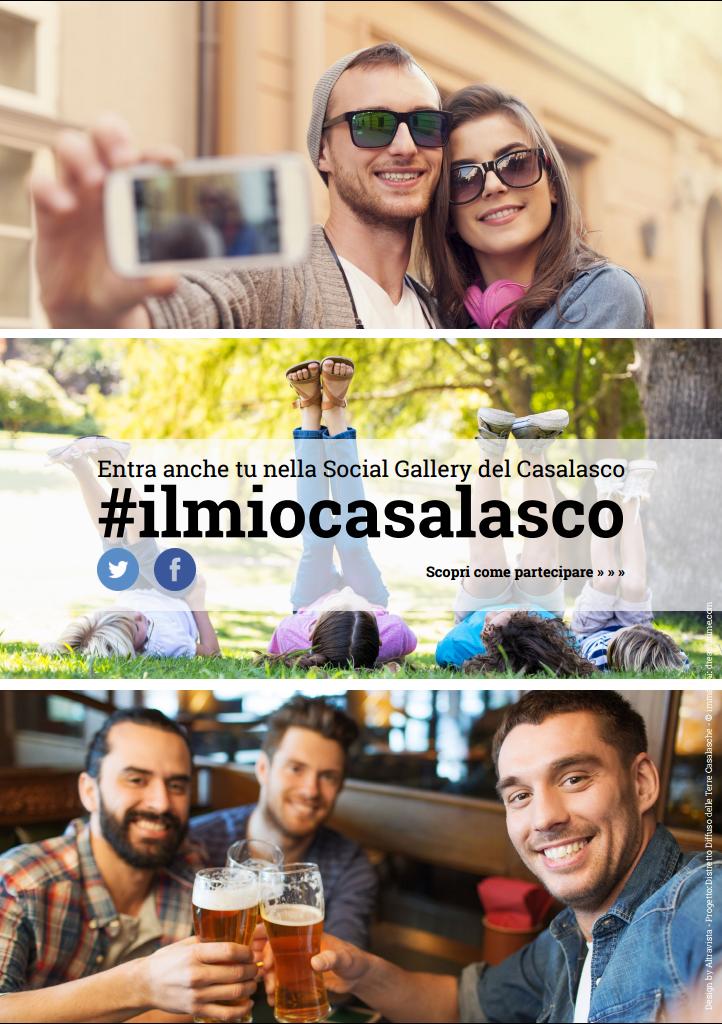 #ilmiocasalasco La Social Gallery delle nostre terre
