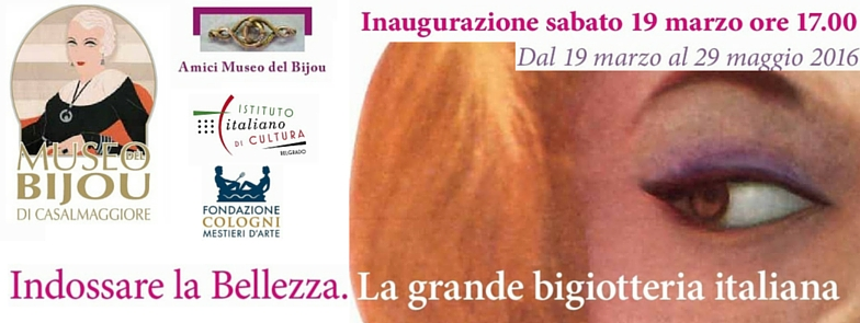 Indossare la bellezza. La grande bigiotteria italiana – Museo del Bijou