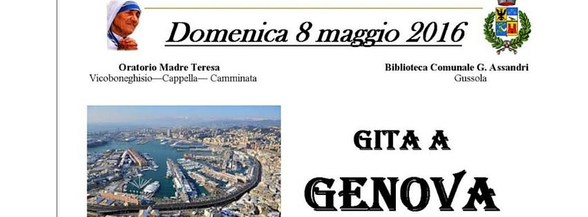 Gita a Genova – Oratorio di Vicoboneghisio