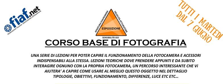 Corso Base di Fotografia – FIAF Cremona