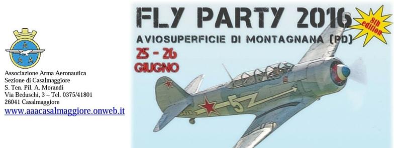 Fly Party 2016 – Associazione Arma Aeronatica Casalmaggiore