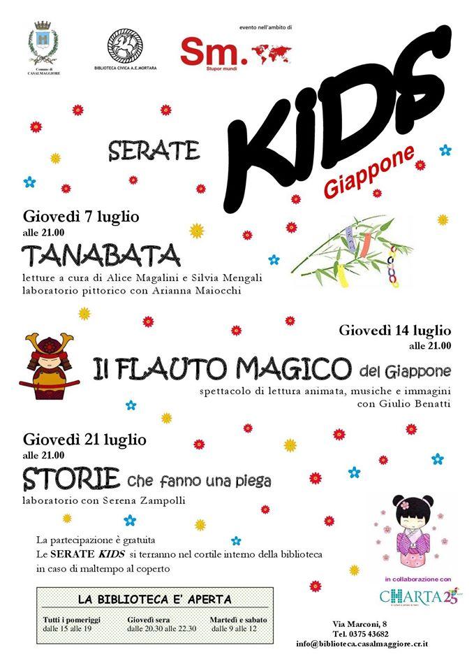 Serate kids – Biblioteca Casalmaggiore