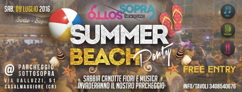 Summer Beach Party at Sottosopra Newsound
