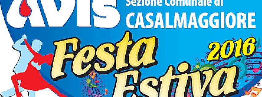 Festa Estiva 2016 – AVIS Casalmaggiore