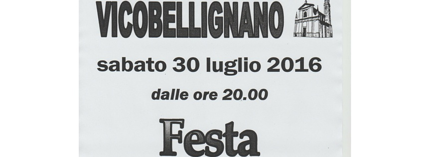 Festa dell'Oratorio – Vicobellignano