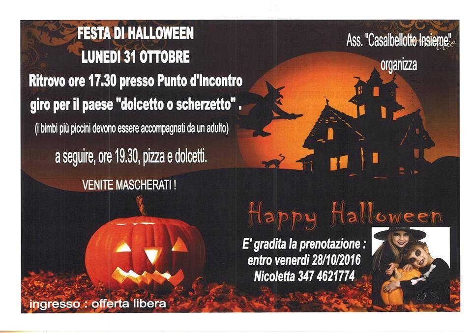 Halloween a Casalbellotto