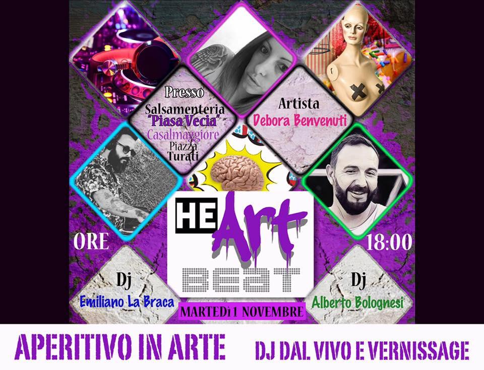 HeARTbeat Dj Set in Piasa Vecia