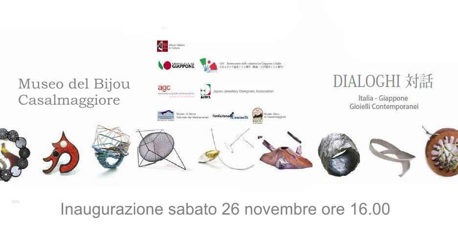 Dialoghi Italia Giappone – Gioielli contemporanei – Museo del Bijou
