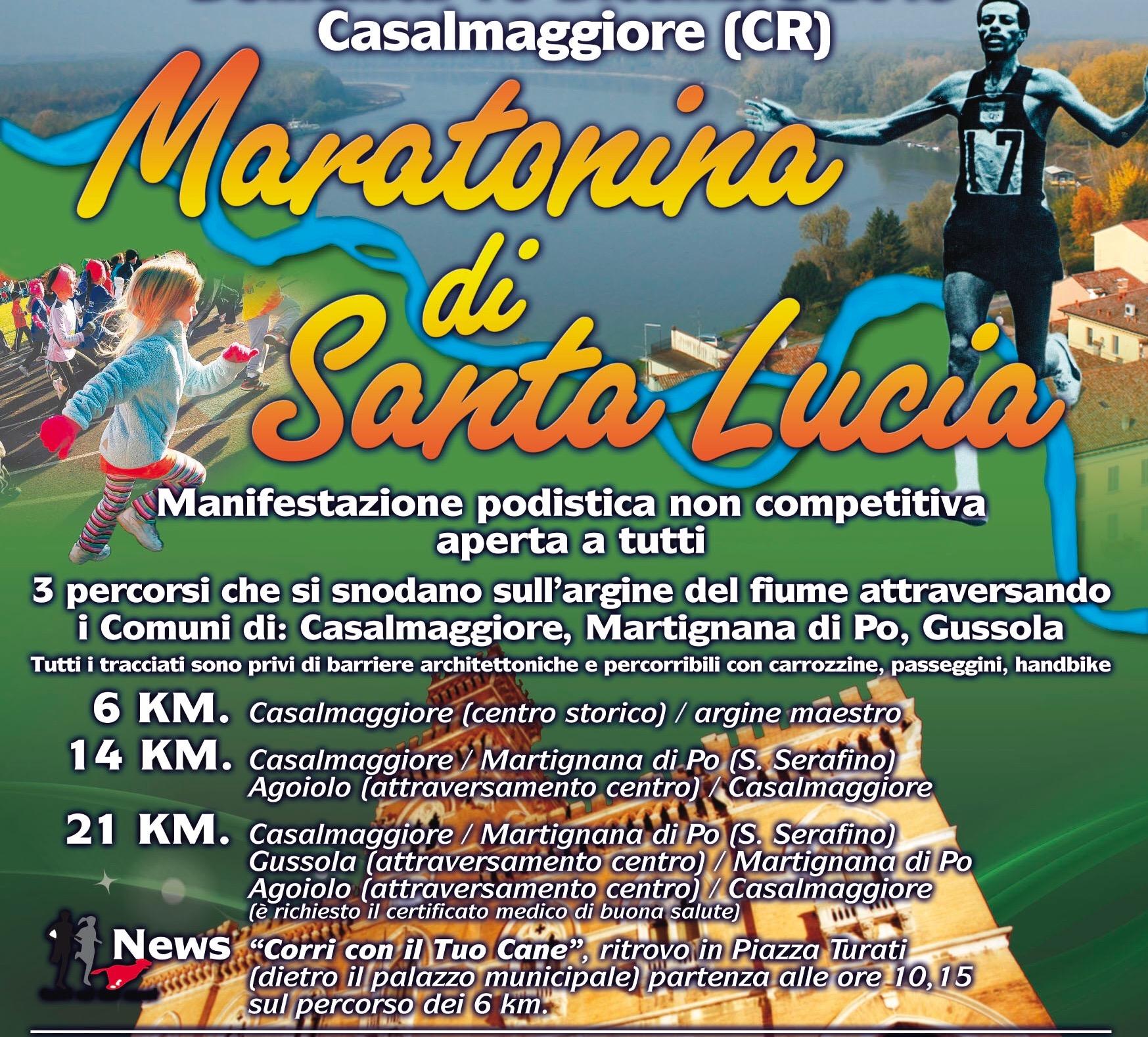 Maratonina di Santa Lucia 2016