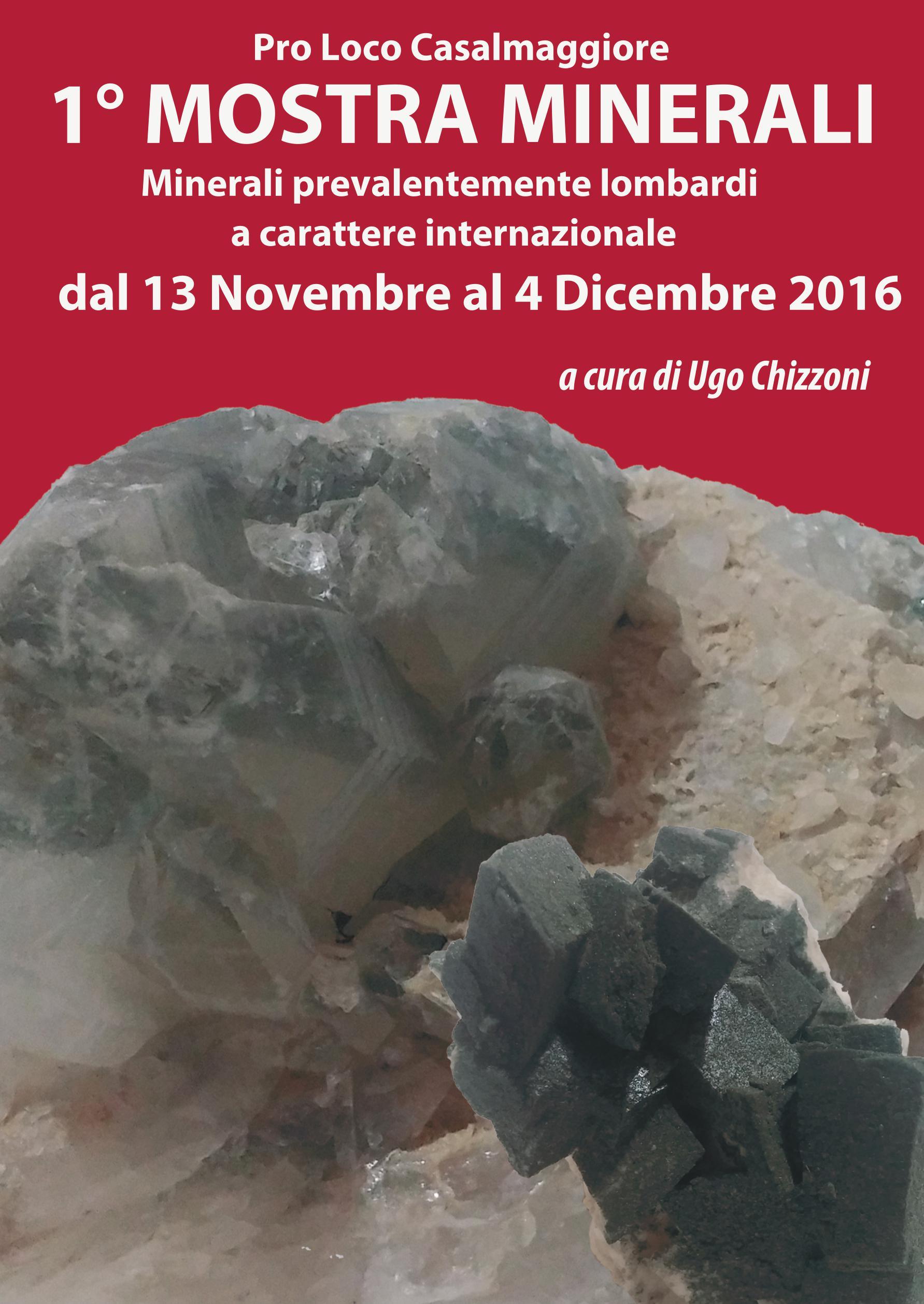 Mostra Minerali lombardi ed internazionali – Pro Loco