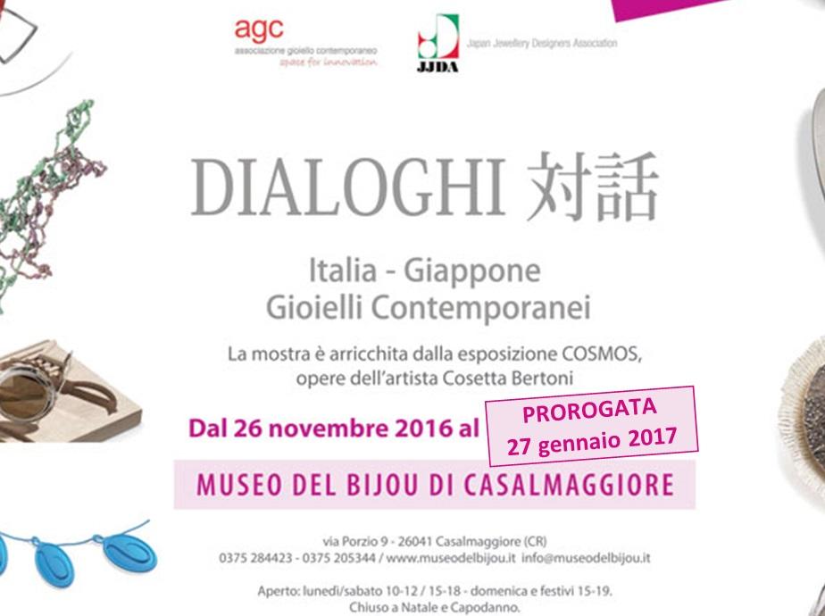Dialoghi Italia Giappone – Gioielli contemporanei – Museo del Bijou {PROROGATA 27/01}