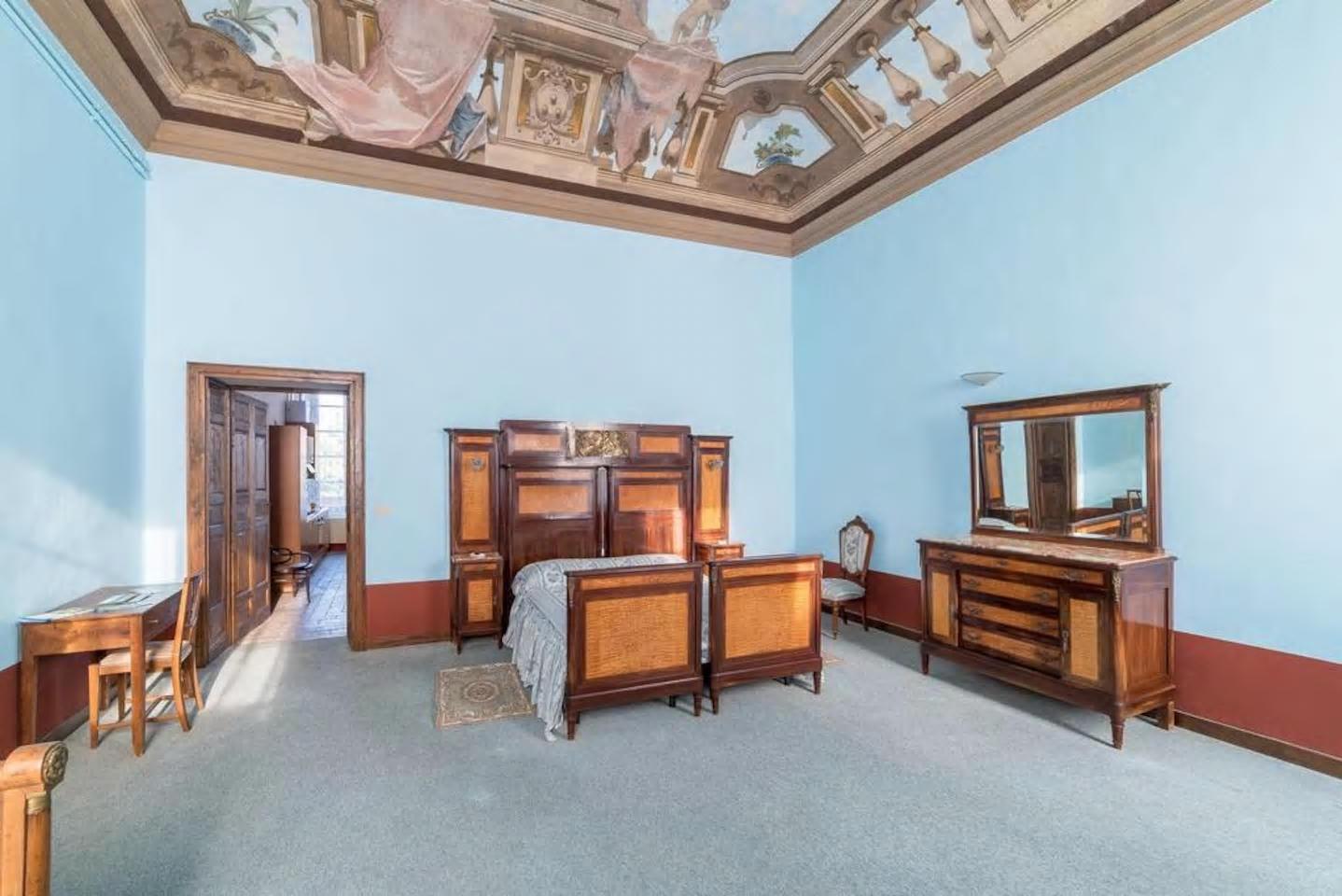 Camera da letto - Appartamento della Badessa - Casalmaggiore