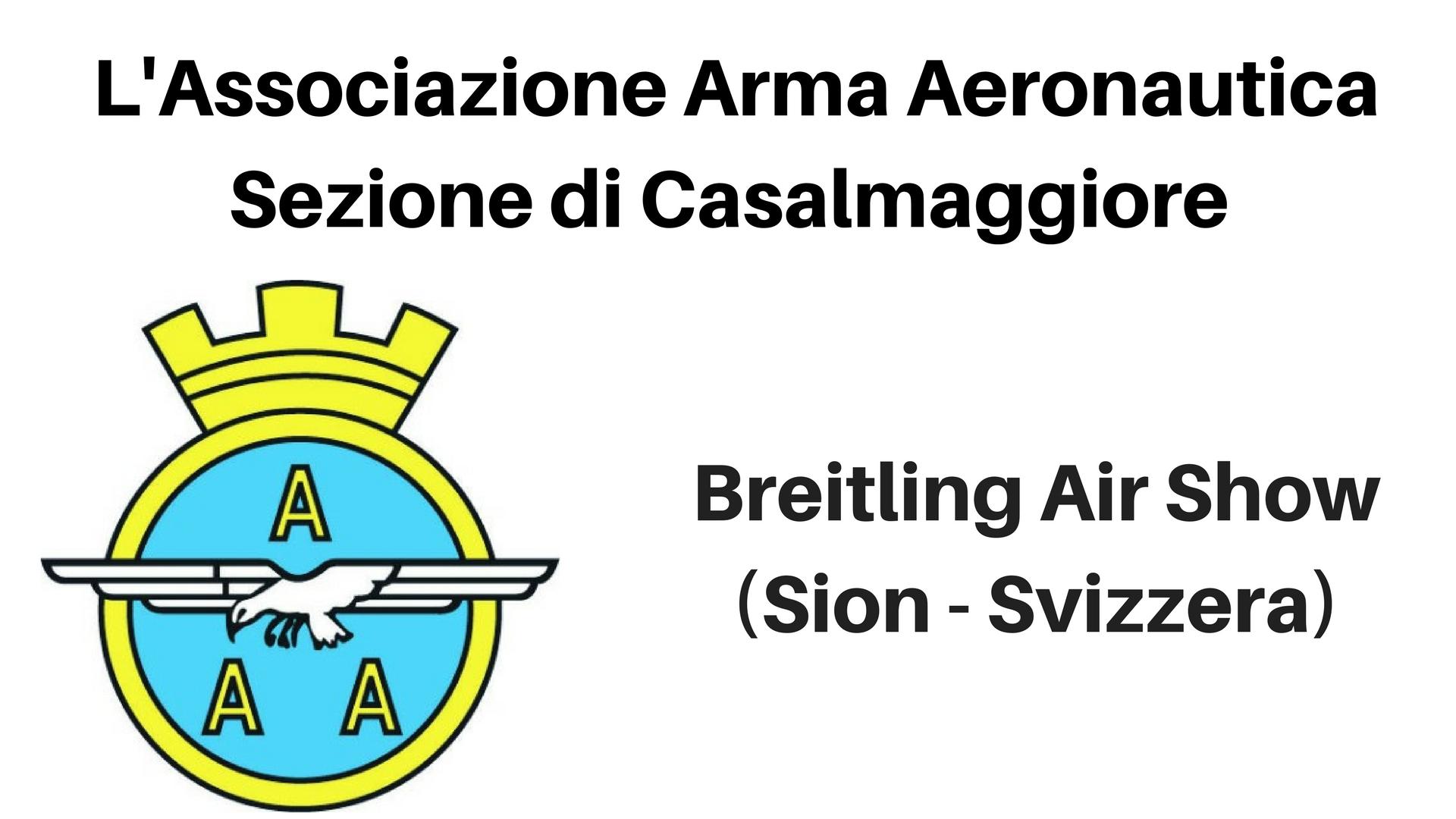 Breitling Air Show (Sion – Svizzera)