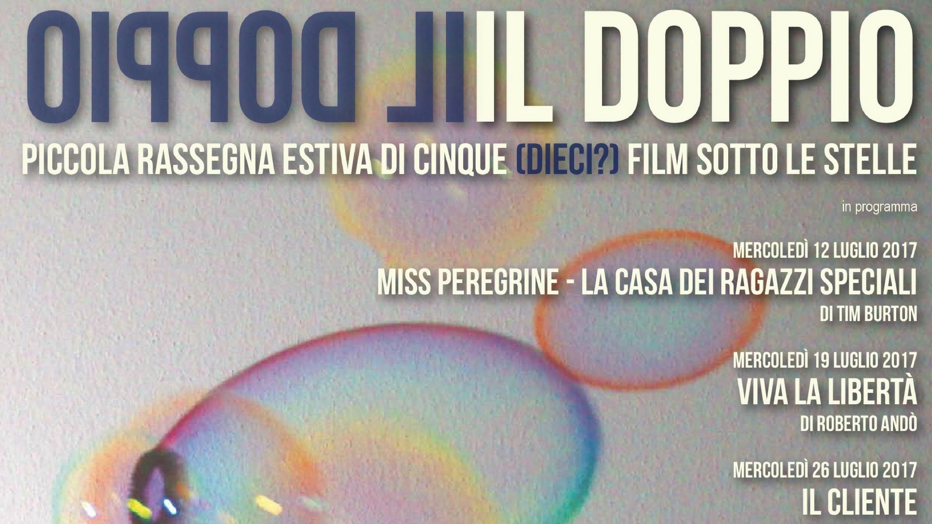"""Rassegna cinematografica sotto le stelle """"Il Doppio"""" – Museo Diotti"""