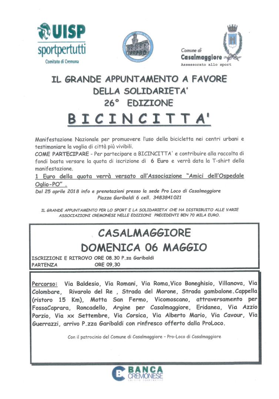 BICINCITTA' 2018