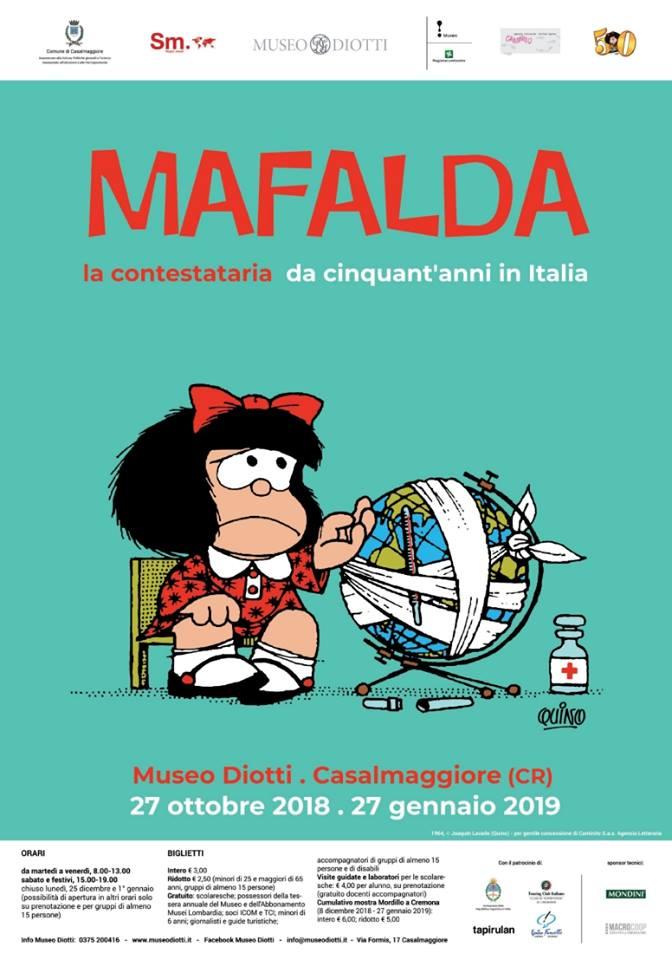 MAFALDA LA CONTESTATARIA