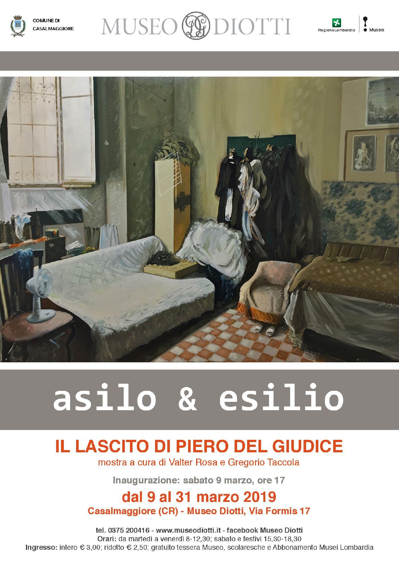 ASILO & ESILIO. Il lascito di Piero Del Giudice